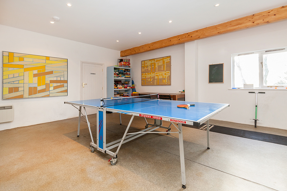Treviades Melyn Games Room Table Tennis